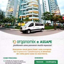 ASSAPE fecha parceria com Organomix, do CasaShopping