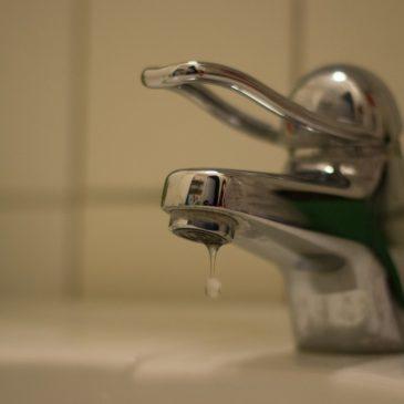 Vazamentos domésticos e o desperdício de água